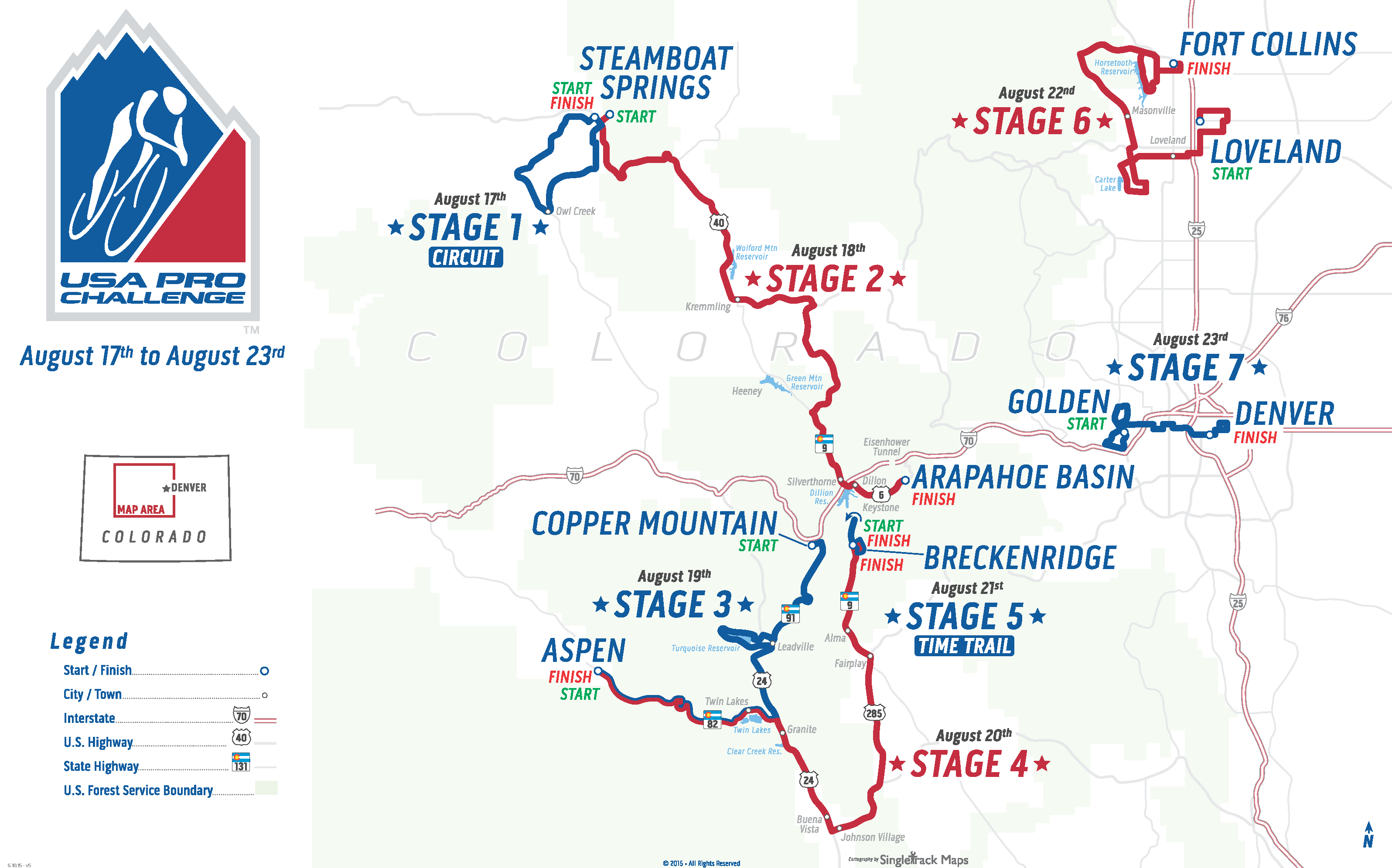 full route map